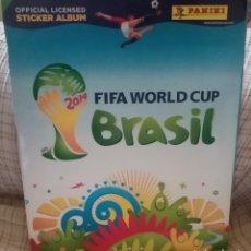 Álbum de fútbol completo: ÁLBUM COMPLETO PANINI ORIGINAL MUNDIAL BRASIL 2014. Lote 218641012