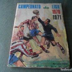 Álbum de fútbol completo: CAMPEONATO DE LIGA 1970-1971 COMPLETO. Lote 218713145