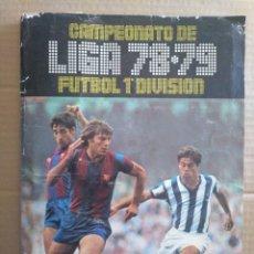 Álbum de fútbol completo: EDICIONES ESTE ALBUM 78/79 COMPLETO UN CROMO POR CASILLA Y CON MUCHOS FICHAJES. Lote 218812516