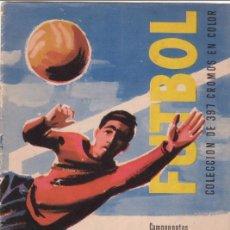 Álbum de fútbol completo: ALBUM CROMOS FUTBOL FACSIMIL CAMPEONATOS NACIONALES COPA EUROPA 1959 1960 RUIZ ROMERO COMPLETO NUEVO. Lote 218847987