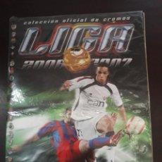 Álbum de fútbol completo: ALBUM COMPLETO LIGA ESTE TEMPORADA 2006-07 LEER INTERIOR. Lote 218921682