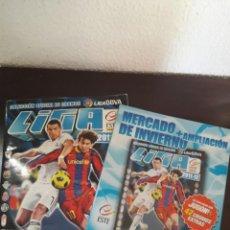 Álbum de fútbol completo: ALBUM COMPLETO LIGA ESTE TEMPORADA 2011-12 + AMPLIACION MERCADO DE INVIERNO. Lote 218923686