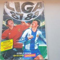 Álbum de fútbol completo: ALBUM COMPLETO LIGA ESTE 87 88 1987 1987 CON LOS COLOCAS DIFICLES Y BISES JUAN CARLOS Y COSTA. Lote 219184352