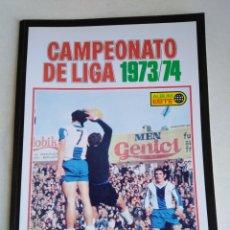 Álbum de fútbol completo: ÁLBUM FACSÍMIL LIGA 1973/1974 ( PANINI SALVAT ). Lote 219185896