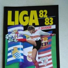 Álbum de fútbol completo: ÁLBUM FACSÍMIL LIGA 1982/1983 ( PANINI SALVAT ). Lote 219186196
