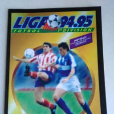 Álbum de fútbol completo: ÁLBUM FACSÍMIL LIGA 1994/1995 ( PANINI SALVAT ). Lote 219186548