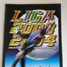 Álbum de fútbol completo: ÁLBUM FACSÍMIL LIGA 2003/2004 ( PANINI SALVAT ). Lote 219187046