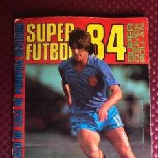 Álbum de fútbol completo: ALBUM COMPLETO SUPER FUTBOL 84 ROLLAN LEER BIEN DESCRIPCION. Lote 219424522