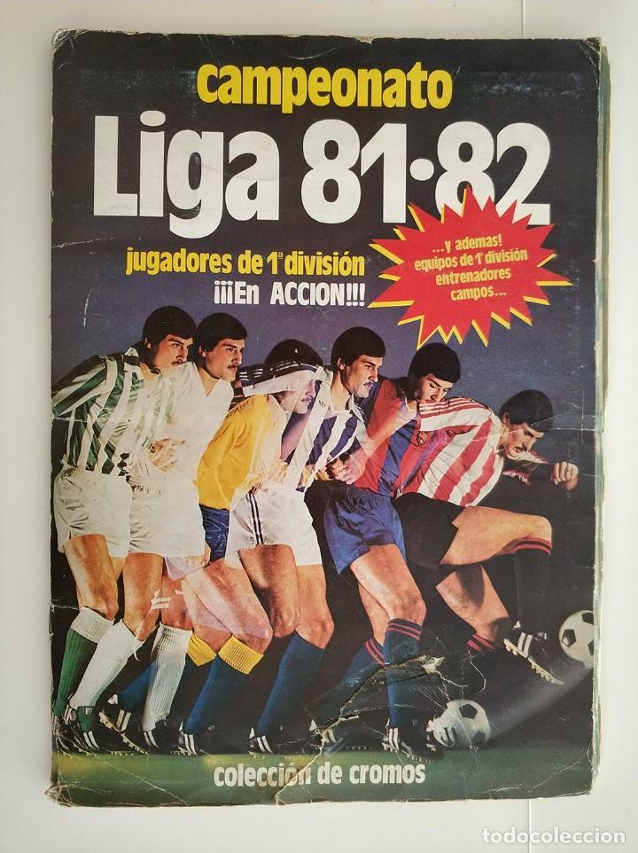 ALBUM COMPLETO 81 - 82 EDICIONES ESTE CON COLOCAS (Coleccionismo Deportivo - Álbumes y Cromos de Deportes - Álbumes de Fútbol Completos)