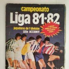 Álbum de fútbol completo: ALBUM COMPLETO 81 - 82 EDICIONES ESTE CON COLOCAS. Lote 219433532