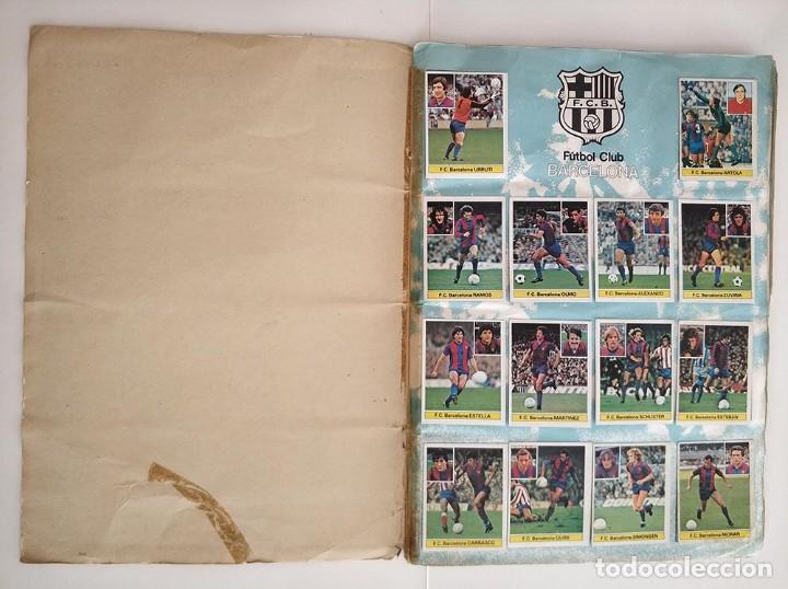 Álbum de fútbol completo: album completo 81 - 82 ediciones este con colocas - Foto 2 - 219433532