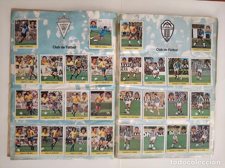 Álbum de fútbol completo: album completo 81 - 82 ediciones este con colocas - Foto 4 - 219433532