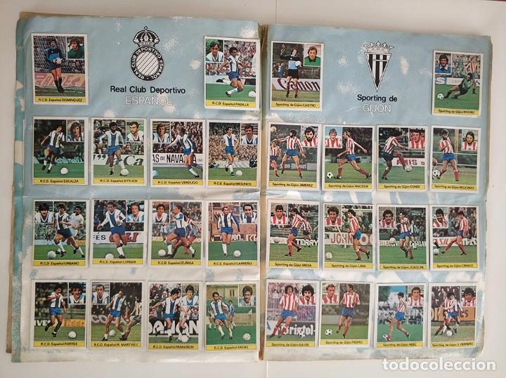Álbum de fútbol completo: album completo 81 - 82 ediciones este con colocas - Foto 5 - 219433532