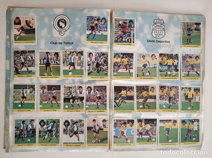 Álbum de fútbol completo: album completo 81 - 82 ediciones este con colocas - Foto 6 - 219433532