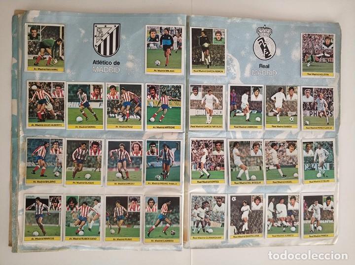 Álbum de fútbol completo: album completo 81 - 82 ediciones este con colocas - Foto 7 - 219433532