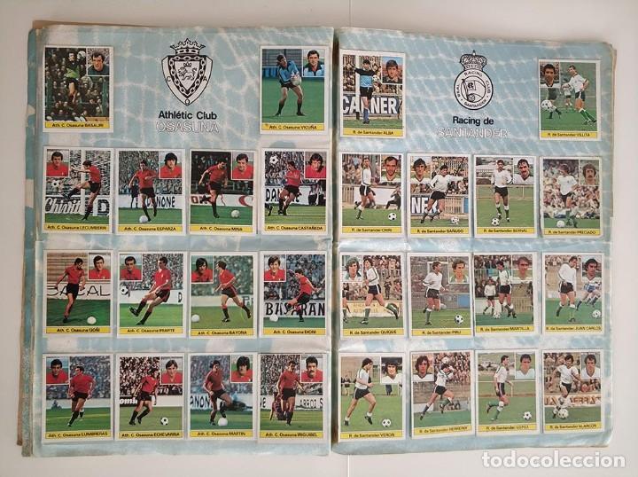 Álbum de fútbol completo: album completo 81 - 82 ediciones este con colocas - Foto 8 - 219433532