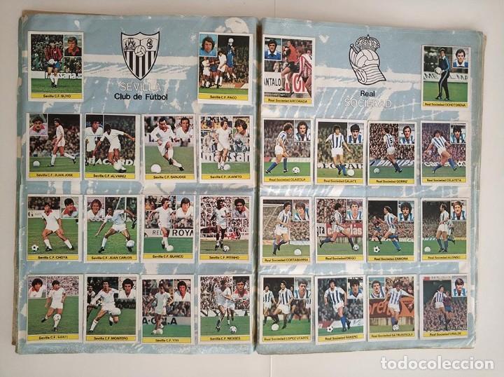 Álbum de fútbol completo: album completo 81 - 82 ediciones este con colocas - Foto 9 - 219433532