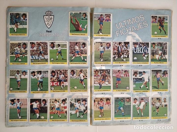 Álbum de fútbol completo: album completo 81 - 82 ediciones este con colocas - Foto 11 - 219433532