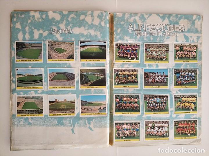 Álbum de fútbol completo: album completo 81 - 82 ediciones este con colocas - Foto 13 - 219433532