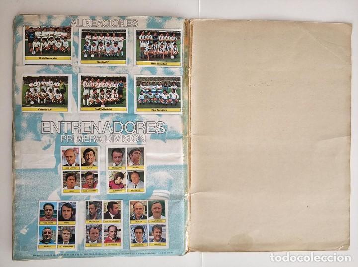 Álbum de fútbol completo: album completo 81 - 82 ediciones este con colocas - Foto 14 - 219433532