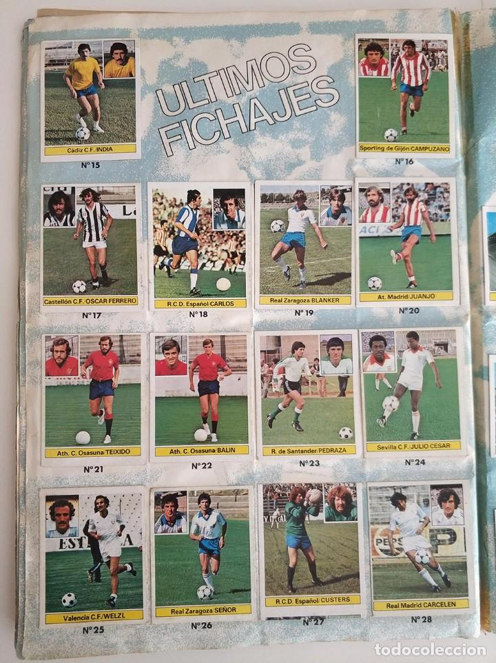 Álbum de fútbol completo: album completo 81 - 82 ediciones este con colocas - Foto 15 - 219433532