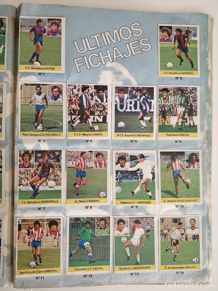 Álbum de fútbol completo: album completo 81 - 82 ediciones este con colocas - Foto 16 - 219433532