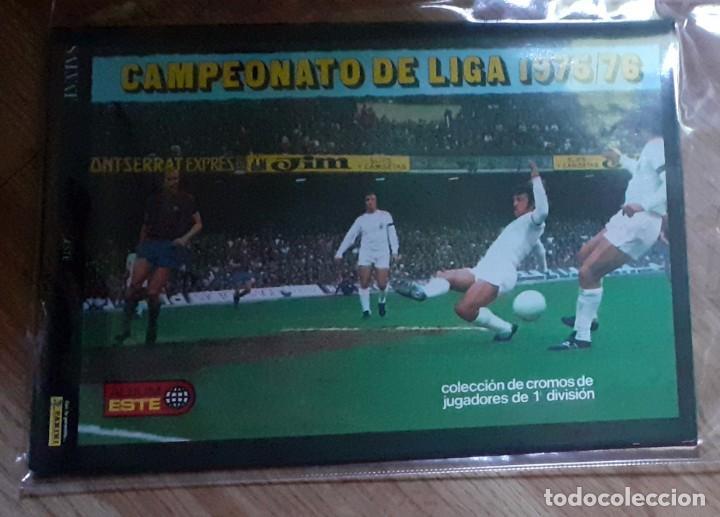 ALBUM FACSIMIL PANINI SALVAT CROMOS INOLVIDABLES LIGA 1975-76 (Coleccionismo Deportivo - Álbumes y Cromos de Deportes - Álbumes de Fútbol Completos)
