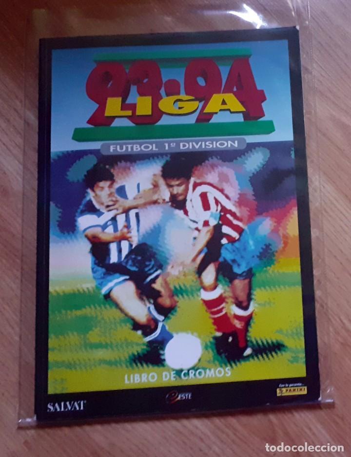 ALBUM FACSIMIL PANINI SALVAT CROMOS INOLVIDABLES LIGA 1993-94 (Coleccionismo Deportivo - Álbumes y Cromos de Deportes - Álbumes de Fútbol Completos)