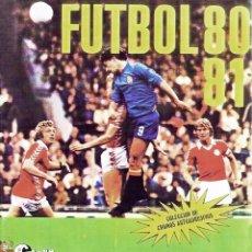 Album de football complet: ALBUM FUTBOL 80-81 CROMO-CROM FACSIMIL,COMPLETO Y NUEVO. Lote 232080355