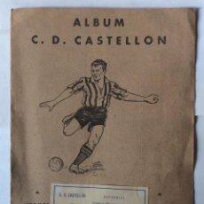 Álbum de fútbol completo: ÁLBUM DE CROMOS DE FÚTBOL C D CASTELLÓN - AÑOS 40. Lote 219851340
