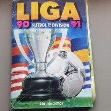 Caderneta de futebol completa: RESERVADO ALBUM LIGA ESTE 90 91 1990 1991 CON MUCHÍSIMOS CROMOS LEER DENTRO. Lote 220066351