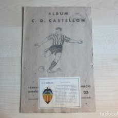 Álbum de fútbol completo: ALBUM DE CROMOS DEL C.D.CASTELLÓN CROMOS DEPORTES E INSTRUCCIÓN EDITORIAL VALENCIANA 1941-42. Lote 220099766
