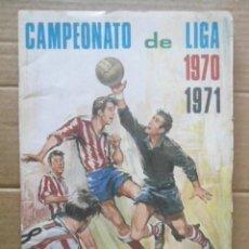 Álbum de fútbol completo: FHER ALBUM COMPLETO CAMPEONATO DE LIGA 1970/71,CROMOS MUY BIEN. Lote 220489616
