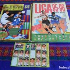 Álbum de fútbol completo: PANINI LIGA 95 96 COMPLETO, ESTE 1995 1996 INCOMPLETO. REGALO ÁLBUM CHICLE VIDAL CD LOGROÑÉS 96 97. Lote 220594055