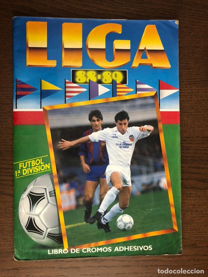 ALBUM FUTBOL LIGA ESTE 88-89 COMPLETO 1988-1989 REGULAR ESTADO (Coleccionismo Deportivo - Álbumes y Cromos de Deportes - Álbumes de Fútbol Completos)