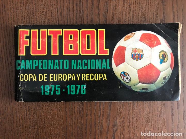ALBUM FUTBOL RUIZ ROMERO 1975-1976 CAMPEONATO NACIONAL DE LIGA COMPLETO 75-76 COPA EUROPA Y RECOPA (Coleccionismo Deportivo - Álbumes y Cromos de Deportes - Álbumes de Fútbol Completos)