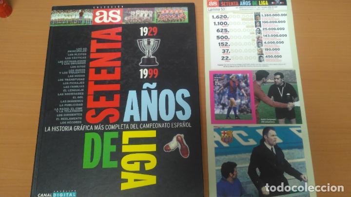 SESENTA AÑOS DE LIGA (Coleccionismo Deportivo - Álbumes y Cromos de Deportes - Álbumes de Fútbol Completos)