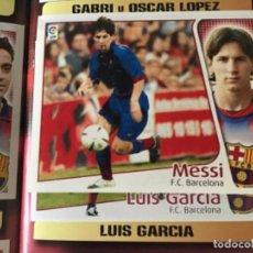 Álbum de fútbol completo: ESTE 2004 2005 04 05 MESSI COLOCA VENTANILLA MÍNIMA EN ÁLBUM CON TODO LO EDITADO. Lote 221572533
