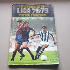 Álbum de fútbol completo: ALBUM COMPLETO LIGA ESTE 78 79 1978 1979 CON PRACTICAMENTE TODO EDITADO SIN COLOCAS IMPOSIBLES. Lote 246242105