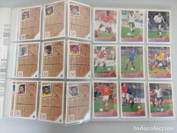 Álbum de fútbol completo: COLECCIÓN UPPER DECK MUNDIAL USA 94/210 FICHAS+ 9 HOLOGRAMAS. - Foto 17 - 221755890