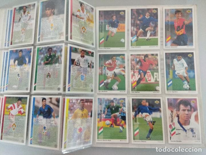 Álbum de fútbol completo: COLECCIÓN UPPER DECK MUNDIAL USA 94/210 FICHAS+ 9 HOLOGRAMAS. - Foto 23 - 221755890