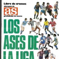 Álbum de fútbol completo: ALBUM DE CROMOS DE FUTBOL COMPLETO LOS ASES DE LA LIGA 87/88 BUEN ESTADO. Lote 221952650