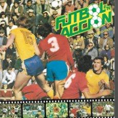 Álbum de fútbol completo: FÚTBOL EN ACCIÓN DANONE ESPAÑA 82 BUEN ESTADO 1982 COMPLETO BUEN ESTADO. Lote 221952815