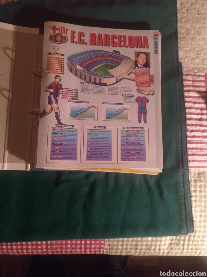 Álbum de fútbol completo: Estrellas de la liga 96-97 - Foto 2 - 221976728