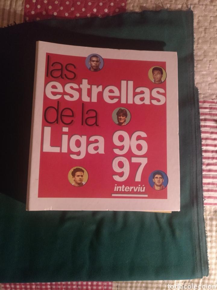 ESTRELLAS DE LA LIGA 96-97 (Coleccionismo Deportivo - Álbumes y Cromos de Deportes - Álbumes de Fútbol Completos)