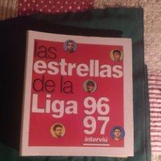 Álbum de fútbol completo: ESTRELLAS DE LA LIGA 96-97. Lote 221976728