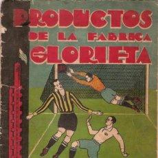 Álbum de fútbol completo: ALBUM CROMOS FACSIMIL PRODUCTOS LA GLORIETA FUTBOL EL DEPORTISTA BIOGRAFIAS 1931-32 URUGUAY COMPLETO. Lote 221979778