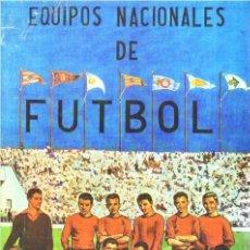 Álbum de fútbol completo: ALBUM CROMOS FACSIMIL EQUIPOS NACIONALES DE FUTBOL 1950 1951 TRIUNFO NUEVO Y COMPLETO. Lote 221980972