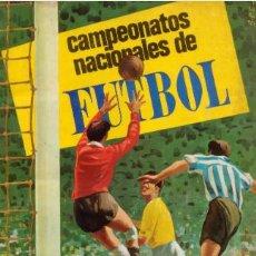 Álbum de fútbol completo: ALBUM CROMOS FACSIMIL CAMPEONATOS NACIONALES DE FUTBOL 1967 19681 RUIZ ROMERO NUEVO Y COMPLETO. Lote 221981018