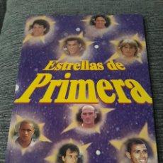 Álbum de fútbol completo: ÁLBUM DE CROMOS ESTRELLAS DE PRIMERA LIGA 97-98 - COMPLETO. Lote 221984166